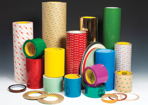 Converters, Inc. collection of 3M tapes, customized by our expert professionals